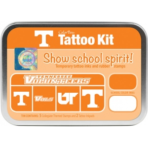 ColorBox® University of Tennessee Collegiate Tattoo Kit: Tin, Stamp, (model CS19602), price per set