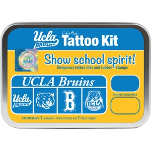 ColorBox® University of California Los Angeles Collegiate Tattoo Kit: Tin, Stamp, (model CS19617), price per set