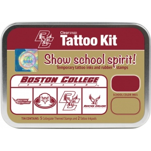 ColorBox® University of Boston College Collegiate Tattoo Kit: Tin, Stamp, (model CS19632), price per set