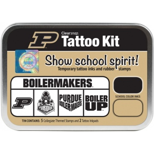 ColorBox® University of Purdue University Collegiate Tattoo Kit: Tin, Stamp, (model CS19646), price per set