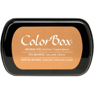 ColorBox® Full Size Archival Dye Ink Pad Toasted Apricot: Orange, Pad, Dye-Based, Full Size Rectangle, (model CS27039), price per each