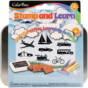 ColorBox® Stamp and Learn Going Places Kit: Kit, (model CS86015), price per set