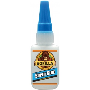 Gorilla Glue® Super Glue Liquid 0.53oz.: Bottle, .53 oz, Heavy-duty, (model G78050), price per each
