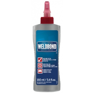 Weldbond® Universal Adhesive 5.4oz Bottle: Bottle, 5.4 oz, All Purpose, (model 8-50160), price per each