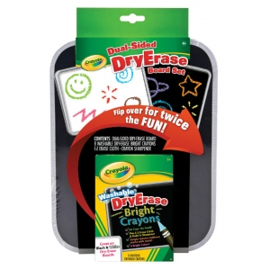 "Crayola® Dry-Erase Bright Color Board Set: 8 1/2"" x 11"", Dry Erase, (model 98-8638), price per set"
