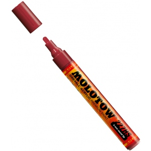 MOLOTOW™ 4mm Round Tip Acrylic Pump Marker Burgundy: Red/Pink, Paint, Refillable, 4mm, Paint Marker, (model M227204), price per each