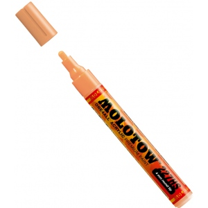 MOLOTOW™ 4mm Round Tip Acrylic Pump Marker Peach Pastel: Orange, Paint, Refillable, 4mm, Paint Marker, (model M227214), price per each