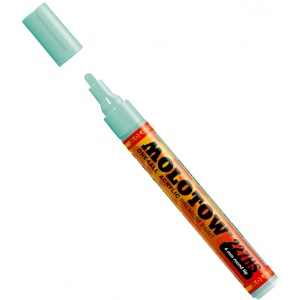 MOLOTOW™ 4mm Round Tip Acrylic Pump Marker Lago Blue Pastel: Blue, Paint, Refillable, 4mm, Paint Marker, (model M227215), price per each