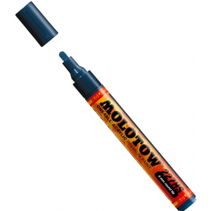 MOLOTOW™ 4mm Round Tip Acrylic Pump Marker Petrol: Blue, Paint, Refillable, 4mm, Paint Marker, (model M227219), price per each