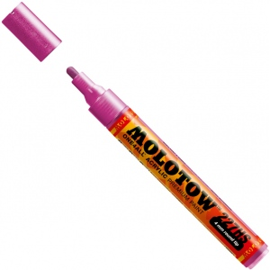 MOLOTOW™ 4mm Round Tip Acrylic Pump Marker Metallic Pink: Metallic, Paint, Refillable, 4mm, Paint Marker, (model M227303), price per each