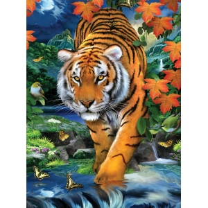 "Royal & Langnickel® Painting by Numbers™ 8 3/4 x 11 3/8 Junior Small Set On The Prowl: 8 3/4"" x 11 3/8"", (model PJS84), price per set"