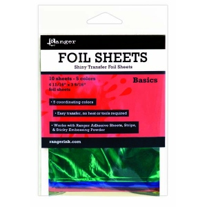 Ranger - Shiny Transfer Foil - 10 sheets - Basics