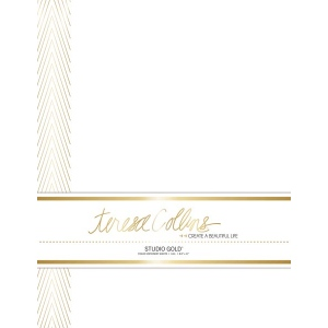Teresa Collins Designs - Studio Gold - Stationery Pack - Chevron