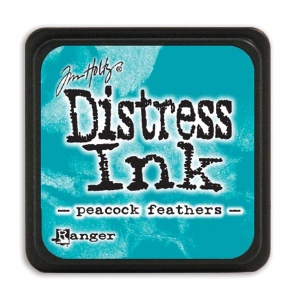Tim Holtz - Distress Mini Ink Pad - Open Stock - Peacock Feathers