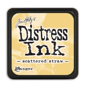 Tim Holtz - Distress Mini Ink Pad - Open Stock - Scattered Straw