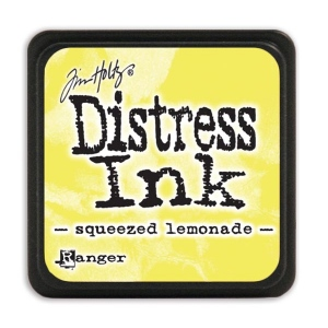 Tim Holtz - Distress Mini Ink Pad - Open Stock - Squeezed Lemonade