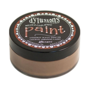 Ranger - Dyan Reaveley - Dylusions - Acrylic Paint - Melted Chocolate