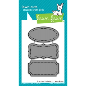 Lawn Fawn - Lawn Cuts - Stitched Labels Die