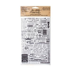 Advantus - Tim Holtz - Ideaology - Remnant Rubs Special Delivery