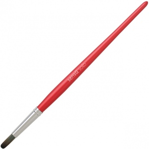 Princeton™ Sensu™ Red Portable Artist Brush: Red/Pink, Tablets, (model SENSU2RED), price per each