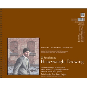 Strathmore® 400 Series Heavyweight Drawing Pad