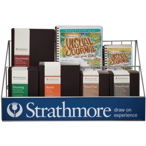 Strathmore® Art Journal Counter Display: Display, Display Rack, (model ST79-297), price per each