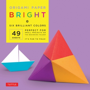 "Tuttle 6"" Origami Paper Brights: Sheet, 6"", Origami, (model T837972), price per pack"