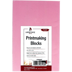 Heritage Arts™ Traditional Printmaking Blocks 6-Pack