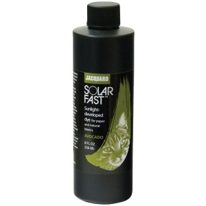 Jacquard SolarFast ™ Avocado Dye 8 oz: Green, Bottle, 8 oz, Sunlight-Developed, (model JSD2-110), price per each