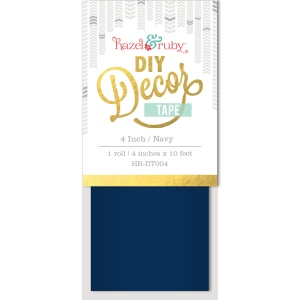Hazel & Ruby - Decor Tape - Navy - 4 inch