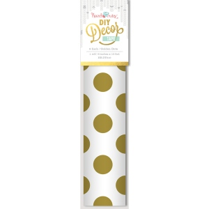 Hazel & Ruby - Decor Tape - Golden Dots - 8 inch