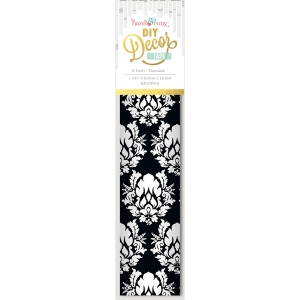 Hazel & Ruby - Decor Tape - Damask - 8 inch