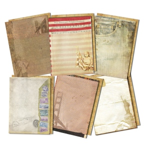 7Gypsies - Journal Pages - American Vintage