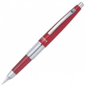 Pentel® Sharp Kerry™ Pencil Red: Black/Gray, .5mm, Mechanical, (model P1035-B), price per each