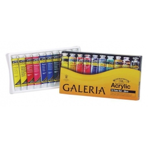 Winsor & Newton™ Galeria™ Acrylic 10-Color Set: Multi, Tube, 20 ml, Acrylic, (model 2190525), price per set