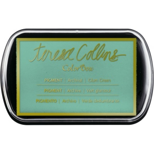 Clearsnap - ColorBox Pigment Ink Pad - Teresa Collins - Glam Green