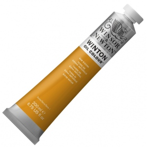 Winsor & Newton™ Winton Oil Color 200ml Raw Sienna: Brown, Red/Pink, Tube, 200 ml, Oil, (model 1437552), price per tube
