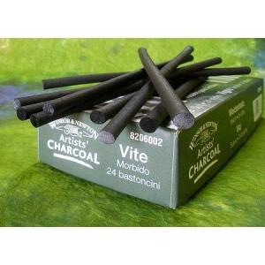 Winsor & Newton™ Artists' Vine Charcoal Soft Set