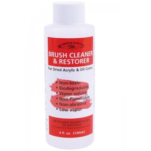 Winsor & Newton™ Artists' Brush Cleaner and Restorer 16oz: Bottle, 473 ml, (model 3250895), price per each