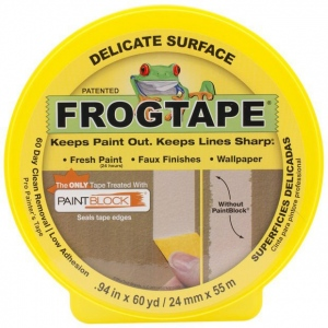 "Frog Tape® .94"" Delicate Surface Tape: 60 yd, Paint, .94"", (model FT280220), price per each"