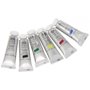 Winsor & Newton™ Designers' Gouache Color Primary Paint Set: Multi, Tube, 14 ml, Gouache
