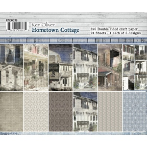 Ken Oliver - Hometown Cottage - 6x6 Paper Collection Pack