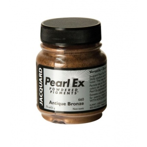 Pearl Ex Powdered Pigment Antique Bronze: Metallic, Jar, .75 oz, (model J660), price per each