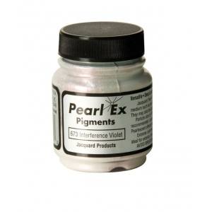 Pearl Ex Powdered Pigment Interference Violet: Purple, Jar, .5 oz, (model J673), price per each