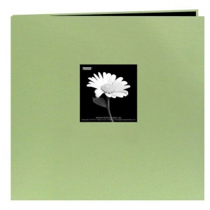 "Pioneer 12"" x 12"" Fabric Frame Scrapbook Sage Green"
