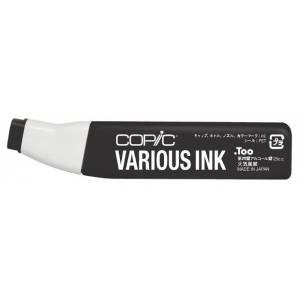 Copic® Various Neutral Gray No. 10 Ink: Black/Gray, Alcohol-Based, Refill, (model N10-V), price per each