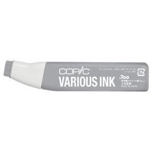 Copic® Various Neutral Gray No. 5 Ink: Black/Gray, Alcohol-Based, Refill, (model N5-V), price per each