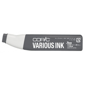 Copic® Various Neutral Gray No. 8 Ink: Black/Gray, Alcohol-Based, Refill, (model N8-V), price per each