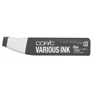 Copic® Various Neutral Gray No. 9 Ink: Black/Gray, Alcohol-Based, Refill, (model N9-V), price per each