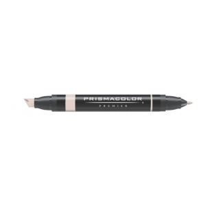 Prismacolor® Premier Art Marker Putty: Brown, Double-Ended, Alcohol-Based, Dye-Based, Extra Broad Nib, Fine Nib, (model PM80), price per each